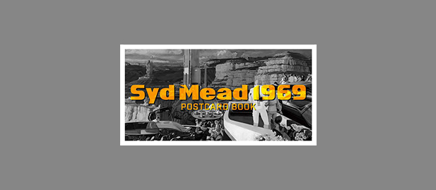 SYD MEAD 1969 POSTCARD BOOK (18 POSTCARDS)