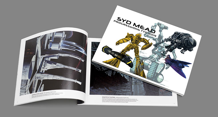 PROGRESSIONS TYO 2019 SYD MEAD EXHIBITION IN 3331 ARTS CHIYODA CATALOG