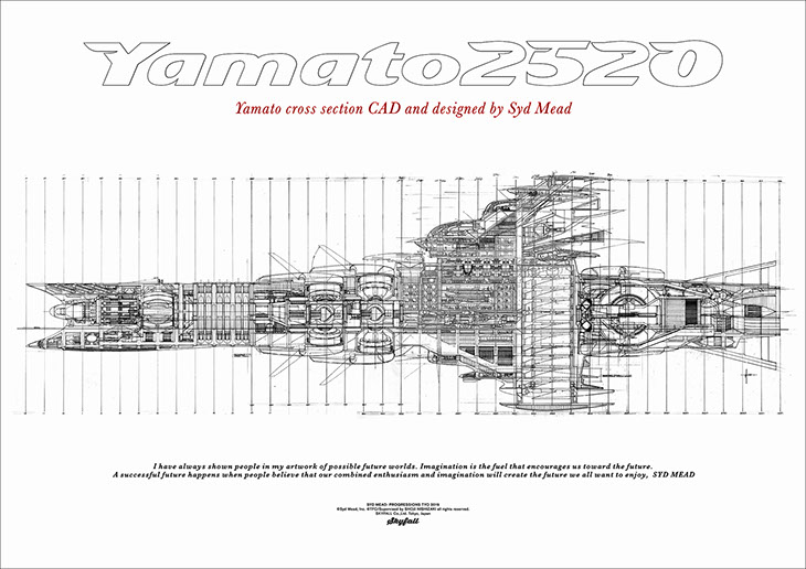 YAMATO: CROSS SECTION POSTER